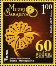 [The 60th Anniversary of the Museum of Sarajevo, Typ SJ]