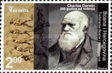 [The 200th Anniversary of the Birth of Charles Darwin, Typ SL]