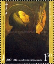 [The 800th Anniversary of the Franciscan Order, Typ SZ]