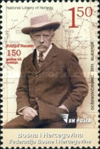 [The 150th Anniversary of the Birth of Fridtjof Nansen, 1861-1930, Typ UB]