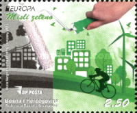 [EUROPA Stamps - Think Green, Typ XX]