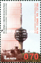 [World Day of Telecommunications - Relay on the Hum Hill, Typ YB]