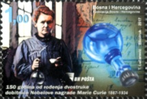 [The 150th Anniversary of the Birth of Marie Curie, 1867-1934, Typ ZJ]