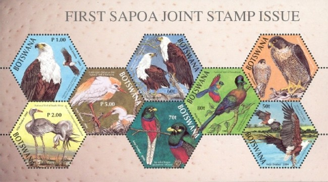 [The 1st Joint Issue of Southern Africa Postal Operators Association Members, Typ ]
