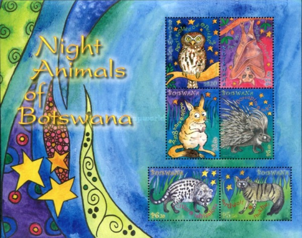 [Night Animals of Botswana, Typ ]