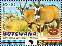 [Kgalagadi Transfrontier Wildlife Park - Joint Issue with South Africa, Typ AAR]