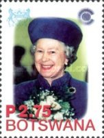 [The 50th Anniversary of Queen Elizabeth's Accession, Typ ABR]