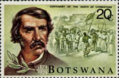 [The 100th Anniversary of the Death of Dr. Livingstone, 1813-1873, type CW]