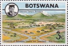 [The 10th Anniversary of University of Botswana, Lesotho and Swaziland, Typ DB]