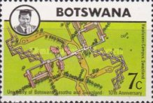 [The 10th Anniversary of University of Botswana, Lesotho and Swaziland, Typ DC]