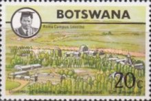 [The 10th Anniversary of University of Botswana, Lesotho and Swaziland, Typ DD]
