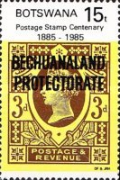 [The 100th Anniversary of First Bechuanaland Stamps, Typ MV]