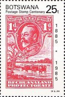 [The 100th Anniversary of First Bechuanaland Stamps, Typ MW]