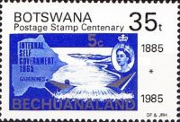 [The 100th Anniversary of First Bechuanaland Stamps, Typ MX]