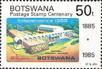 [The 100th Anniversary of First Bechuanaland Stamps, Typ MY]