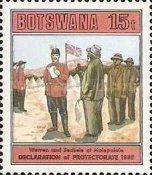 [The 100th Anniversary of Declaration of Bechuanaland Protectorate, Typ NI]