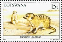 [Animals of Botswana, type OV]