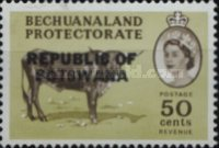[Betschuanaland Postage Stamps Overprinted