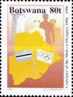 [The 100th Anniversary of Modern Olympic Games, Typ WI]