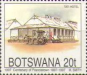 [The 100th Anniversary of Francistown, Typ WU]