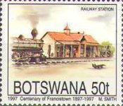 [The 100th Anniversary of Francistown, Typ WV]