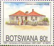 [The 100th Anniversary of Francistown, Typ WW]