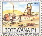 [The 100th Anniversary of Francistown, Typ WX]