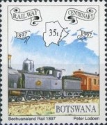 [The 100th Anniversary of Railway in Botswana, Typ WY]