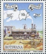 [The 100th Anniversary of Railway in Botswana, Typ XA]