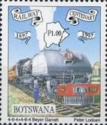 [The 100th Anniversary of Railway in Botswana, Typ XB]