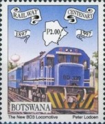 [The 100th Anniversary of Railway in Botswana, Typ XC]