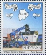 [The 100th Anniversary of Railway in Botswana, Typ XD]