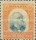 [President Afonso Pena, 1847-1909 - Different Frames, type A12]