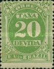 [Numeral Stamps, type B1]
