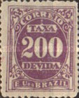 [Numeral Stamps, type B7]