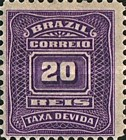 [Numeral Stamps, type C1]