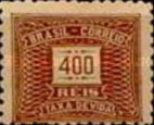 [Numeral Stamps, type D10]