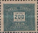 [Numeral Stamps - Watermarked, type D14]
