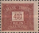 [Numeral Stamps - Watermarked, type D15]