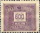 [Numeral Stamps - Watermarked, type D16]