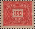 [Numeral Stamps - Different Watermark, type D18]