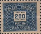 [Numeral Stamps - Different Watermark, type D19]