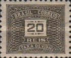 [Numeral Stamps, type D20]