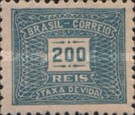 [Numeral Stamps, type D22]
