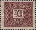 [Numeral Stamps, type D27]