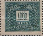 [Numeral Stamps, type D28]