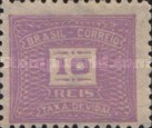 [Numeral Stamps, type D29]
