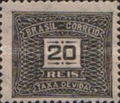 [Numeral Stamps, type D30]