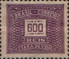 [Numeral Stamps, type D36]