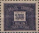 [Numeral Stamps, type D40]